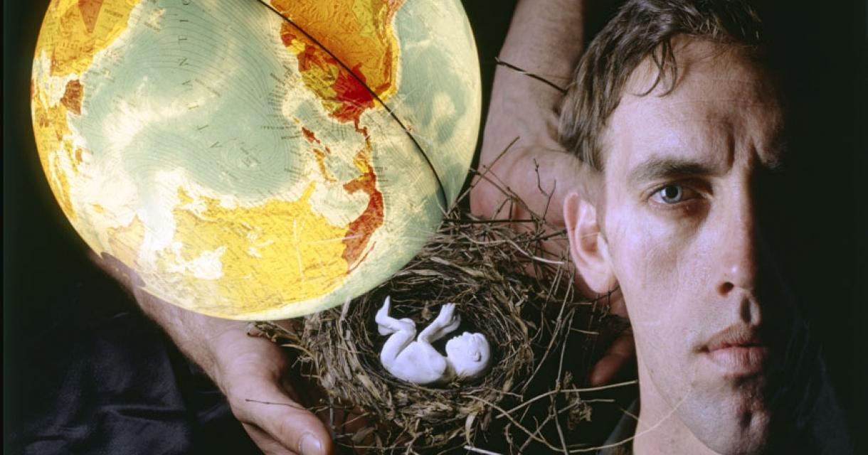 Globe and Nest. Andreas Sterzing, David Wojnarowicz, 1989